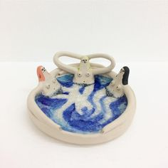 Diy Clay, Clay Crafts, Arts And Crafts, Sculptures Céramiques, Sculpture Art, Ceramic Clay, Ceramic Pottery, Clay Art Projects, Clay Baby
