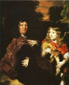 Nicolaes Maes - Father and Son