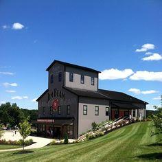 Jim Beam Distillery in Bardstown, KY