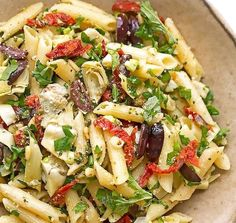 Mediterranean Pasta Salad | Food Recipes