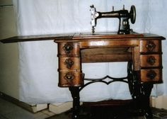 1918 White Sewing Machine Company Treadle Something That I Own But Need To Re
