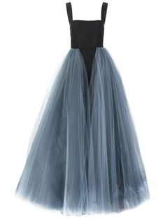 Shop Christian Siriano layered tule gown in Christian Siriano from the world's… Christian Siriano, Style Couture, Couture Fashion, Formal Evening Dresses, Prom Dresses, Long Dresses, Bridesmaid Gowns, Wedding Dresses, Vintage Clothing