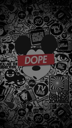 Mickey Dope - Tap to see more Dope wallpaper! - @mobile9
