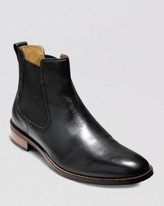 Black Leather Chelsea Boots, Leather Shoes, Men's Shoes, Shoe Boots, Shoes Men, Lenox Hill, Boots Online, Cole Haan, Man Shop