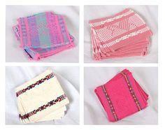 salva manteles y porta vasos  telar tradicional de cintura 4