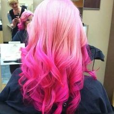 Perrie Edwards Pink Hair
