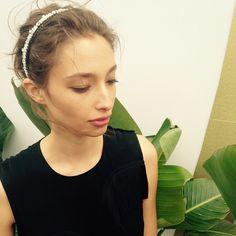 Alexandra Agoston - Vogue Australia Instagram