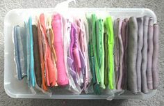 Polymer Clay Storage Solutions: Options, Tips, & Help - Storage for Blends by TooAquarius on KatersAcres Blog