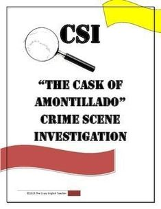The Cask of Amontillado - Literary Elements: The Cask of ...