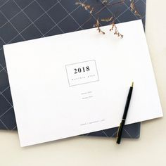 gyou 2018 A tous moments dated monthly planner sheets - fallindesign