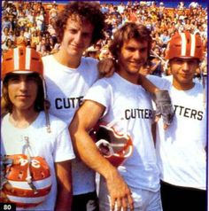 Breaking Away: 1979 Dennis Quaid, Daniel Stern  Director: Peter Yates  Coming of age sportsy movie about cycling.