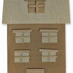 Cardboard Houses 2D. #cardboard