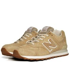New Balance ML574NBE - Made In England  Beige
