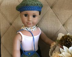 """18"""" Doll Clothes - Bohemian Outfit for American Girl Doll"""