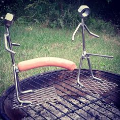 These fun hot dog cookers will make you the grill freakin master this summer at all your cookouts!!