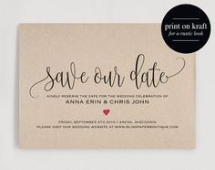 28 best save the dates images on pinterest in 2018 save the date