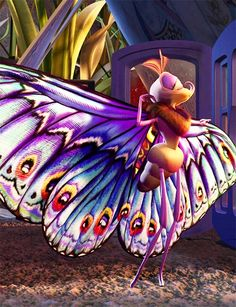 A Bug's Life. When I was little, I honestly thought she was the prettiest thing ever