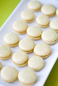 Pistachio Macarons - Macarons are a close runner up to the Statue of Liberty if we're talking about the best things we got from the French. But if we're talking guilt-free desserts, these little pastries definitely take the cake. They're low in calories and sugar and therefore won't set you back too much. Now that's a win-win.  Get the recipe from Love And Olive Oil.
