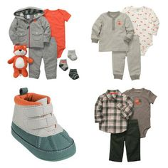 Carter's Baby Boy Collection Boo bear needs these boots!!