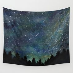 The Night Sky Wall Tapestry