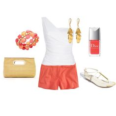 I see this as a perfect outfit for vacation, island or cruise :)