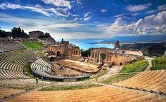 Taormina, Sicily: Таормина, Сицилия #tourforlife