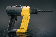 Nautilus Underwater Power Drill There are a number of issues with current underwater power tools. The Nautilus Underwater Power Drill addresses nearly all of them. Foremost among its innovations… Cordless Power Drill, Cordless Drill Reviews, Nautilus, Le Manoosh, Yanko Design, Drill Driver, Cool Tools, Tool Design, Web Design