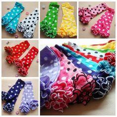 Wholesale Socks - Buy Baby Girls Leg Warmers With Cotton Dot Ruffle Kids Ruffle Leggings Toddler Knee Pads, $1.89 | DHgate