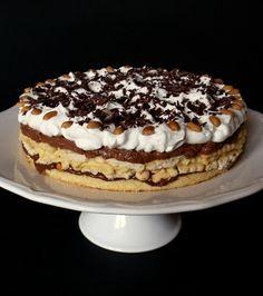 Tiramisu v dortové formě Ital Food, Delicious Desserts, Yummy Food, Oreo Cupcakes, Sweet Cookies, Tiramisu, Nutella, Cake Recipes, Sweet Tooth