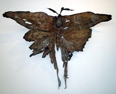 Madagascan Moon Moth by Tony Fredriksson www.openskywoodart.com
