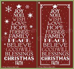 Download Joy Love Peace Believe Christmas | Christmas Trees ...