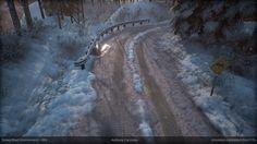 ArtStation - Snowy Road, 안토니 CARMONA