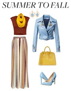 """""""Summer to Fall - By DreamCloset"""" by dreamclosetx4 on Polyvore featuring Ally Fashion, Maison Père, Le Nom, Penny Loves Kenny, Furla and New Directions"""