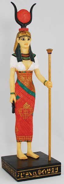 Hathor, Egyptian Deities, goddess of love, beauty and motherhood