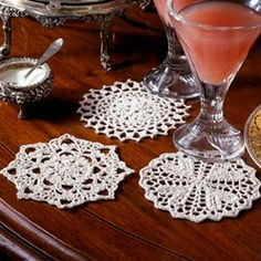 Leisure Arts - Classic Coasters Thread Crochet Patterns ePattern, $2.99 (http://www.leisurearts.com/products/classic-coasters-thread-crochet-patterns-digital-download.html)
