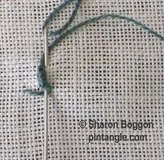 I ❤ embroidery . . . bullion buttonhole step 2 ~By SharonB, PinTangle