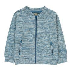 Kidscase Janis Organic Cotton Zip-Up Sweatshirt-listing