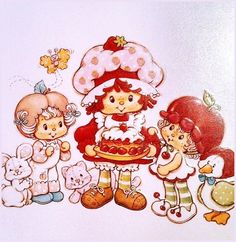 Strawberry Shortcake and Friends