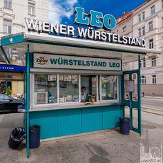 Viennas oldest Würstelstand - Leo Cafe Restaurant, Weekend Loading, Honeymoon Pictures, Heart Of Europe, Most Beautiful Cities, Homeland, Alter, Food Truck, Travelling