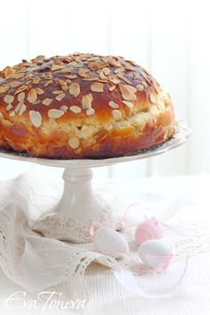 mazanec - czech easter bread