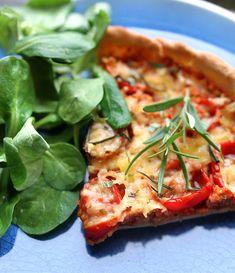 Veganmisjonen: Pizzapai med soyakjøttdeig