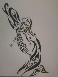 tribal mermaid (c) Sarah Dellinger