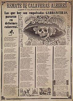 La Catrina como artefacto popular de la muerte fue bautizada como tal por el muralista Diego Rivera, aunque originalmente se llamase Calavera Garbancera.
