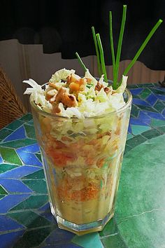 Chinakohl Schichtsalat, ein schmackhaftes Rezept aus der Kategorie Früchte. Bewertungen: 4. Durchschnitt: Ø 3,5.