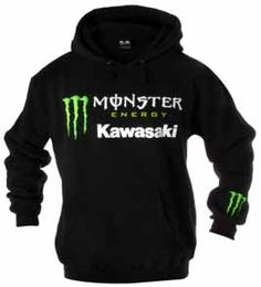 2012 Kawasaki Monster Energy Hoodie $42.99