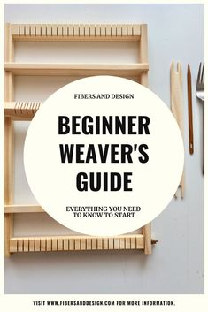 In this beginner guide to weaving on a frame loom you will learn basic weaving terminology and techniques needed to get started and develop your skills. Weaving Loom Diy, Weaving Tools, Paper Weaving, Weaving Art, Weaving Patterns, Tapestry Weaving, Hand Weaving, Loom Weaving Projects, Stitch Patterns