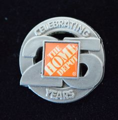 """Home Depot Corporate """"Celebrating 25 years"""""""