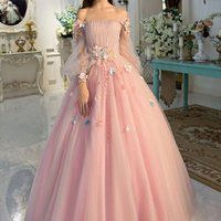 pretty dresses Off-the-shoulder wedding dress long sleeves Prom Dresses Unique Prom Dress Long Evening Dresses strapless party dress - shuiruyan Prom Dresses Long With Sleeves, Unique Prom Dresses, Long Wedding Dresses, Formal Evening Dresses, Pretty Dresses, Maxi Dresses, Tulle Wedding, Cool Dresses, Evening Gowns With Sleeves