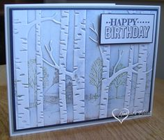 I& been playing with this fun technique. I needed some masculine birthday cards and this seemed perfect for them. This one uses a free stamp from Altenew called Masculine Birthday Cards, Altenew, Stamping Up, Woodland, Paper Crafts, Happy, Card Ideas, Fun, Scrapbooking