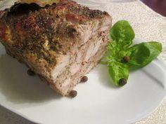 Schab pieczony w mielonym Meatloaf, Food, Essen, Meals, Yemek, Eten